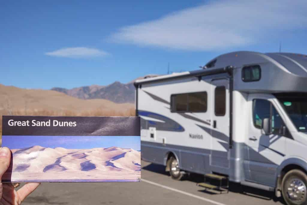 how to RV at national parks