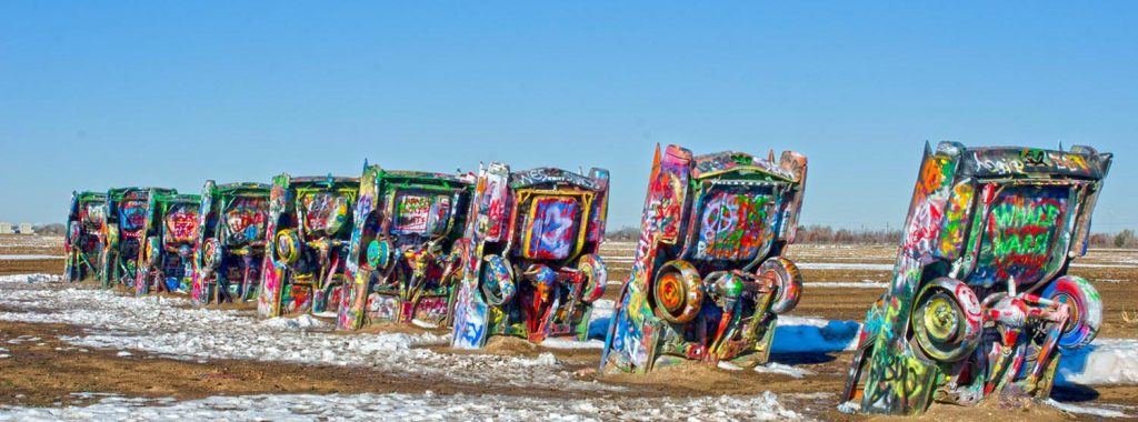 Photo Tripping America - Route 66 Texas - Camping World