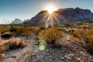 sunrise big bend national park