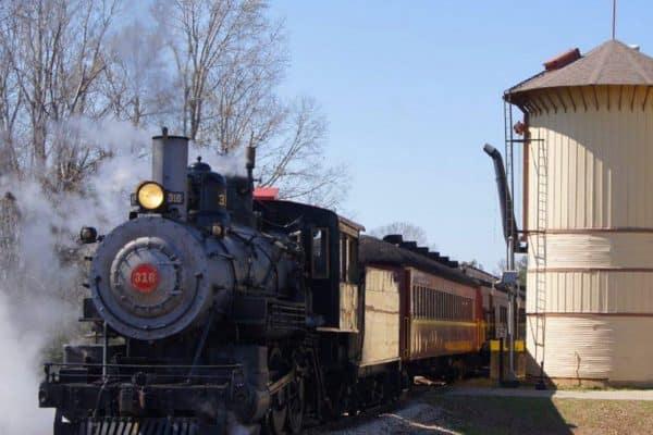 Texas State Railroad Steam Engine