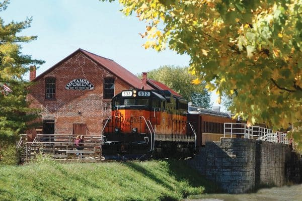 Metamora and Whitewater Valley Train