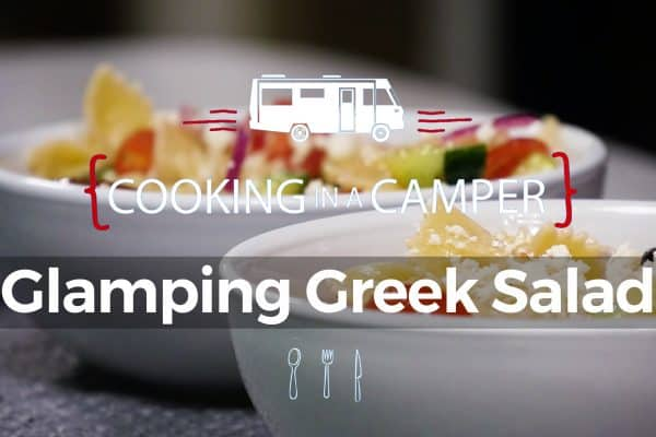 cooking in a camper
