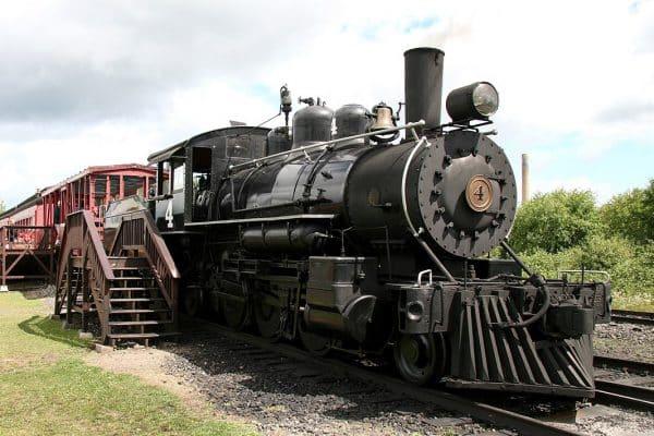 Lumberjack Steam Train Locomotive