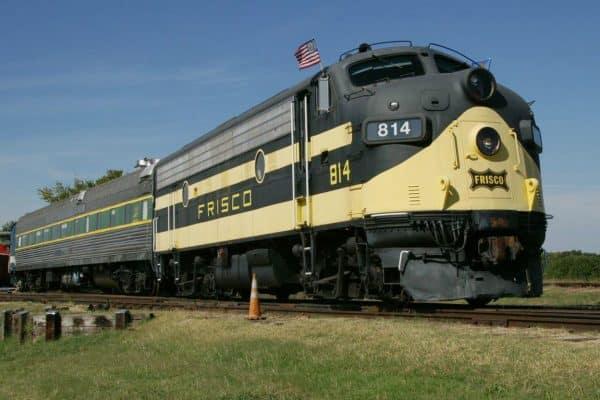 Oklahoma Railway Museum Diesel Engine