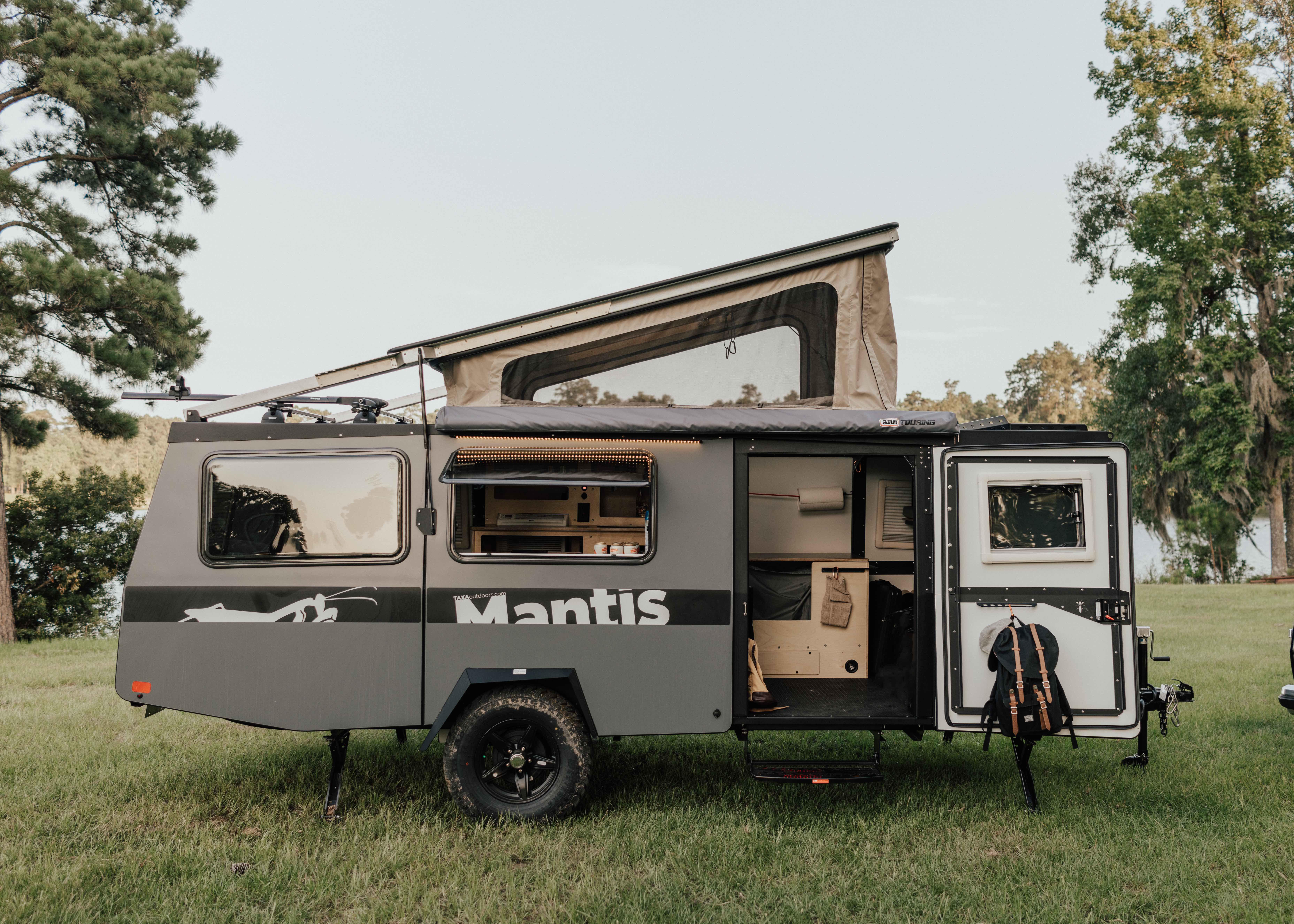 TAXA's lightweight, garageable Mantis