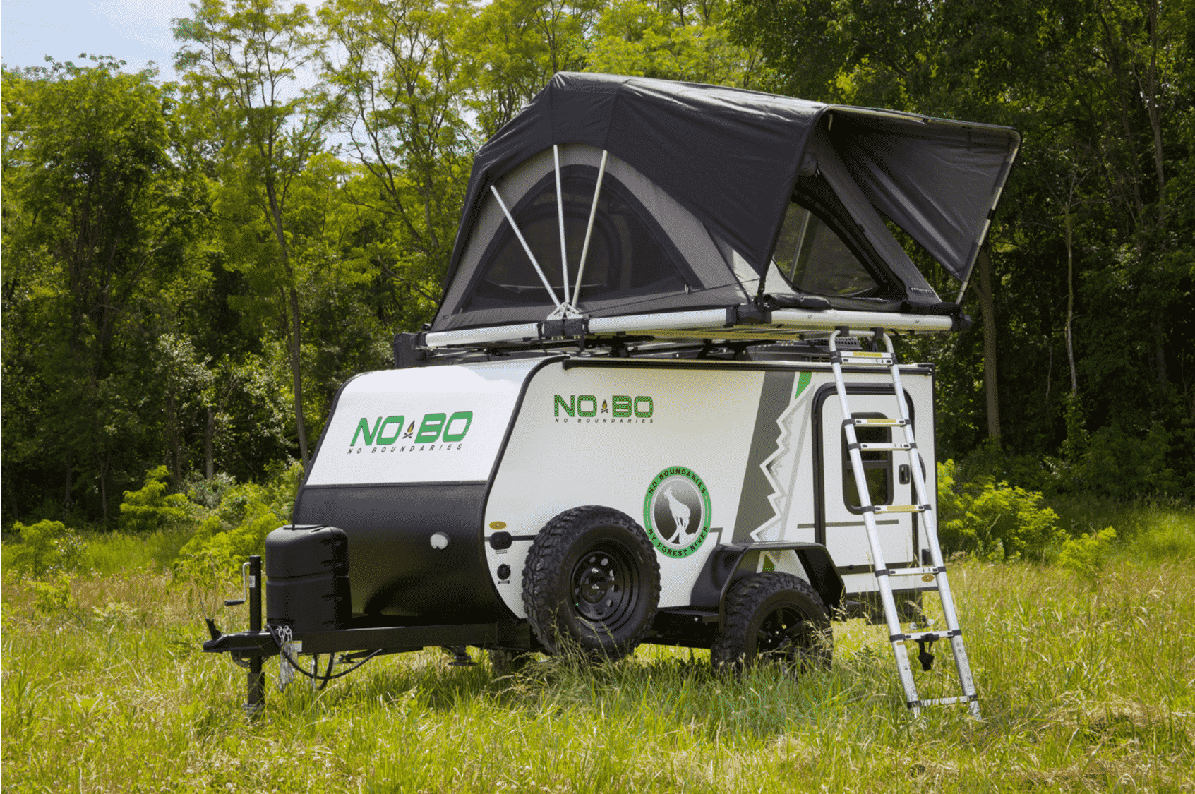 No Boundaries 10 Series is small enough to tow with an SUV