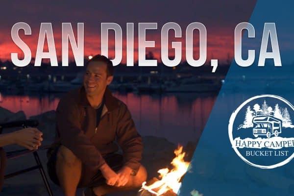 happy camper bucket list San Diego