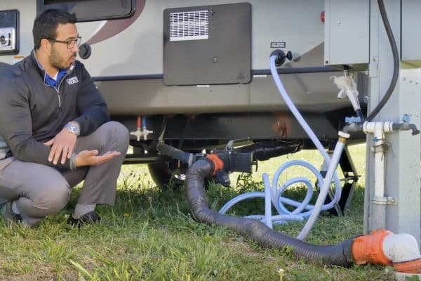 caring for your sewer hose