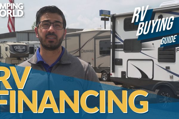 RV Buying Guide RV Financing