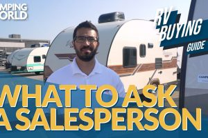 rv buying guide what to ask a salesperson