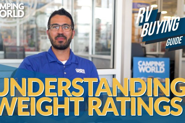 rv buying guide: understanding rv weight ratings