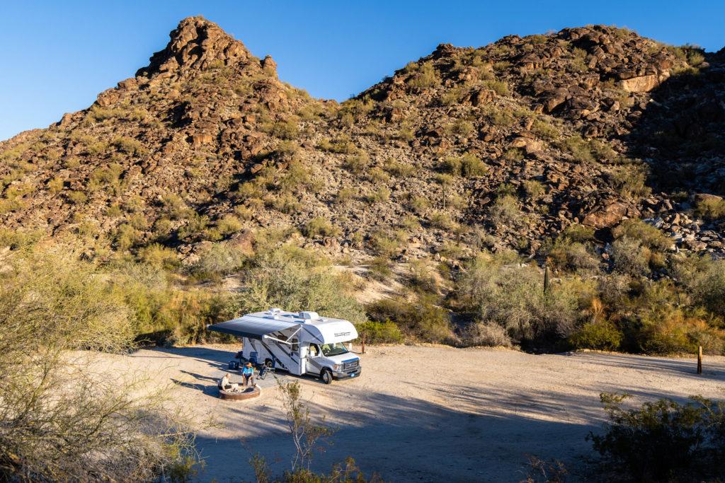 RV camping in Phoenix Arizona