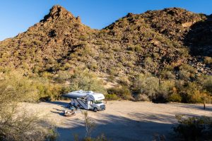 RV camping in Phoenix Arizona
