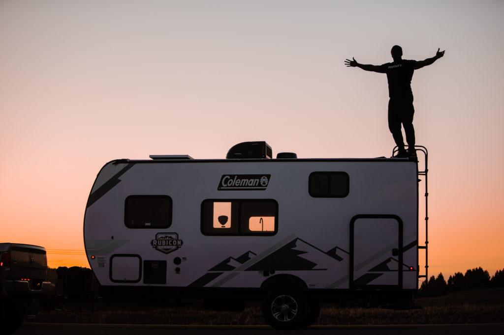 camping in south dakota
