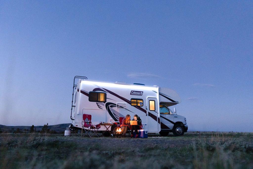 rocky mountain boondock campsite