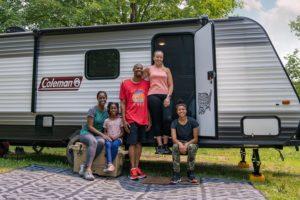 Demetrius and Family New York Camping RV