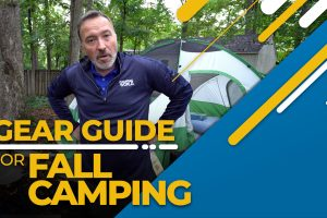 Gear Guide for Fall Camping